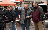 Slobodan Trninić, Rajko Grlić and Ivo Hušnjak on the set of  Just Between Us  <em>&copy; Nikola Predović</em>